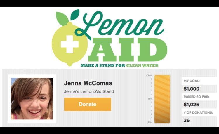 lemonaid stand goal