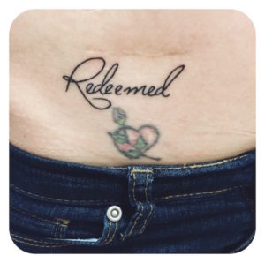 redeemed tattoo